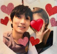 ノンスタ石田夫妻、初めての2ショット公開「ドキドキしちゃう」「お似合いだー」