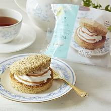 コンビニで買えるプチご褒美♡ファミマの「紅茶のシフォンサンド」がAfternoon Tea監修でおいしさアップ!