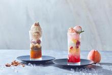 パフェ仕立ての贅沢かき氷も♡ザ ストリングス 表参道「カフェ&ダイニング ゼルコヴァ」に夏スイーツが登場