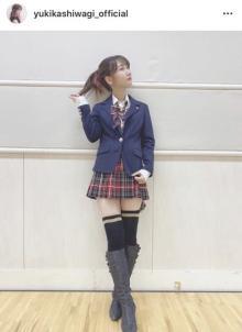 柏木由紀、12年前の前田敦子の衣装着用「コスプレではないです!! 断言!!!」