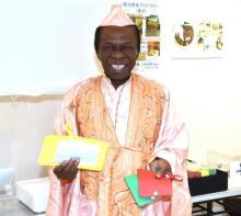 サンコン、一夫多妻制も不倫は絶対NG「心が痛むよ」 アフリカ支援へポップアップストア名誉店長に