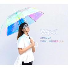 雨の日が待ち遠しくなっちゃいそう♡見るたびに表情が変わる「オーロラビニール傘」が新登場しました