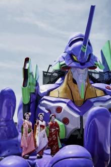 エヴァに乗れる世界初の新アトラクション 東映太秦映画村で10・3オープン