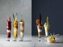 昼はフルーティー×夜は洋酒が香る大人仕様♡ウェスティン東京、夏のご褒美パフェはチョイスに戸惑う6種類♩
