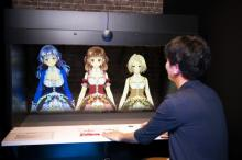 3Dホログラムのアイドルキャラと個室で会話 体験型施設『Prhythm ☆ StellA』8月オープン