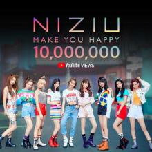 『Nizi Project』発NiziU、鮮烈プレデビュー 初MVが公開1日で1000万再生