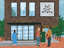 """銘店の味をカジュアルに堪能。広尾に誕生する""""EAT PLAY WORKS""""のレストランフロアが気になる…♡"""