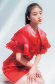 今田美桜「今までにない挑戦」2年ぶり『ヤンジャン』表紙でバストライン大胆披露