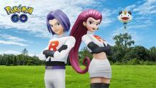 アニメ版・ロケット団、『ポケモン』スマホゲーに参上 マスターズとGOでコラボイベント開催