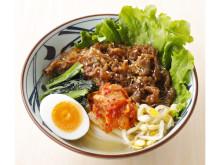 爽やかな酸味のスープと牛焼肉が絡み合う!「丸亀製麺」の夏限定メニュー
