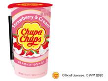 「チュッパチャプス」のストロベリークリーム味がドリンクになって新登場!