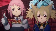 『SAO』アスナがピンチ、援軍にリズベット登場 第14話場面カット公開