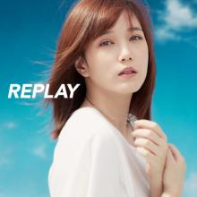 本田翼、コンピ盤『REPLAY』最新作ジャケットに ELT~あゆまで35曲ノンストップ
