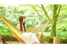 開放的な自然に癒される!六甲高山植物園の「ハンモックカフェ」