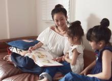 西山茉希、2人の子供と誌面に登場 最初は緊張気味も自然と笑顔に
