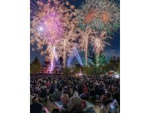「おかやまフォレストパーク ドイツの森」無病息災祈願の花火大会開催