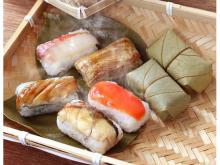 電子レンジで温めて食べる!冷凍タイプの「蒸し柿の葉寿司」が新登場