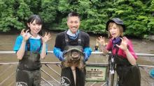 AKB48山内瑞葵、『池の水』でカミツキガメに接触 大家志津香が平謝り
