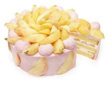 カフェコムサの「桃フェア」第2弾が8月スタート!店舗限定シャインマスカット盛りすぎケーキも気になる♡