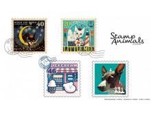 """切手風デザインが可愛い!動物をモチーフにした雑貨""""スタンプアニマル""""登場"""