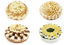 """あなたの近くの店舗はどんなケーキ?「カフェコムサ」全国35店舗それぞれに""""バナナの日""""限定ケーキが登場"""