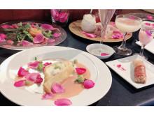 フォトジェニック!バラ三昧のコース料理を楽しむ「食べるバラのランチ会」
