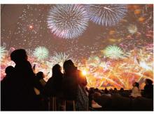 プラネタリウムで新感覚花火体験!「ハナビリウム」全国各地で上映決定