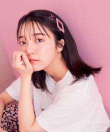 上白石萌音『mini』20周年号のカバーモデルに 夏のストリートスタイル披露&100問100答挑戦