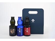 黒龍酒造から小瓶3種の「KOKURYUつながるセット」が数量限定発売