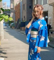 鈴木亜美、艷やか浴衣姿公開「色っぽい!」「歳取らなすぎいやまじで」
