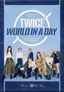 """TWICE""""1日で回るワールドツアー""""配信 J.Y. Parkが総合プロデュース"""
