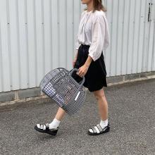 もうチェックした?「PUEBCO」のプラスチックマーケットバッグが、おしゃれで持ちやすいと話題なんです♡