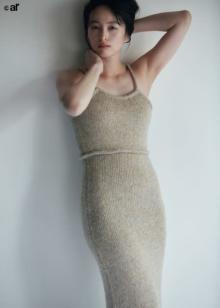 清野菜名、タイトドレスまとい「大いに照れましたね」結婚後初ファッション撮影