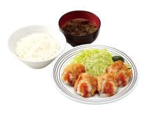 テイクアウトもOK!「徳島県産生すだちとポン酢の唐揚げ定食」が発売