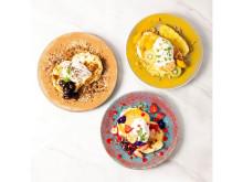 3色の「ドレッシーパンケーキ」をお得に楽しめる期間限定フェアが開催!