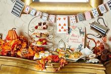 テイクアウトボックスも充実♩表参道VINO BUONOの秋アフタヌーンティーは「不思議の国のアリス」がテーマ♡