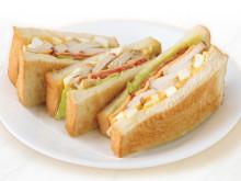 「喫茶室ルノアール 中野北口店」サンドウィッチ3種のテイクアウトを開始
