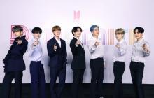 BTS「元気を出してほしい」とメッセージ 新曲発売オンライン記者会見