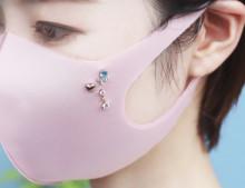 これなら暑い夏のマスクもおしゃれで気分上がるかも♡かわいすぎるCanal4℃の「マスク用ピアス」が販売開始です