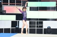 田中理恵、7年ぶり1日限りの現役復帰 優雅な演技を生披露「みなさんになにか伝わる演技ができたかな」