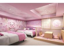 東京23区内唯一!ハローキティルームが「浅草東武ホテル」に誕生