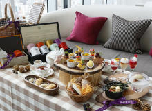 秋の味覚をピクニック気分で♩おしゃピク仕立ての秋アフタヌーンティーが大阪マリオット都ホテルでスタート!