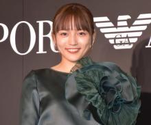 川口春奈、エンポリオ アルマーニの広告モデル 11年ぶりに日本人女優の起用「素直にうれしかった」