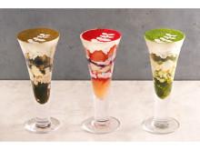 福岡天神店限定!パスタと甘味の「こなな」に色鮮やかなパフェ6種が新登場