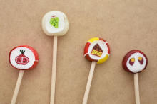 """""""アップルパイ""""や""""スイートポテト""""味のキャンディ…⁉♡「パパブブレ」に秋にぴったりのお菓子が登場です"""