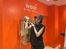 島袋聖南、自身のブランド「WDOT」初ポップアップ開催 彼氏・ノアも「喜んでくれました!」