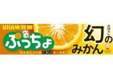 熊本県五木村産くねぶ果汁を使用した「ぷっちょ 幻のみかん」が先行発売!