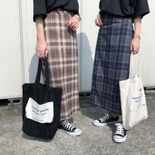 1990円で本当にいいの!?GUからほっそり見えまで叶う、秋コーデの主役級チェック柄スカートが登場です◎