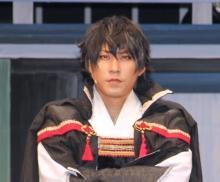 織田信長役・小笠原健「ドS」言い間違いに赤面 明智光秀役など共演者からイジられる