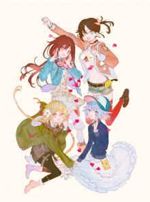 TVアニメ「ローリング☆ガールズ」Blu-ray BOXの詳細が発表!特典CDにはTHE BLUE HEARTS「夢」のカバーを収録!さらにメインキャラクター4人の<過去><現在><未来>を描いた3枚の描き下ろしも! 【アニメニュース】